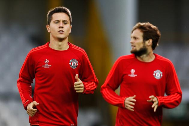 Ander Herrera, Daley Blind Reportedly Out of Manchester United vs Liverpool Game