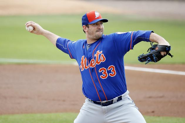 Matt Harvey Announced as Mets' Starter for 2016 Opening Day