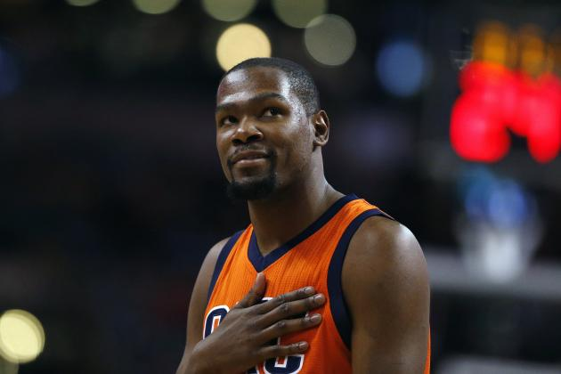 Kevin Durant Rumors: Spurs Reportedly Will Pursue Thunder Star in Free Agency