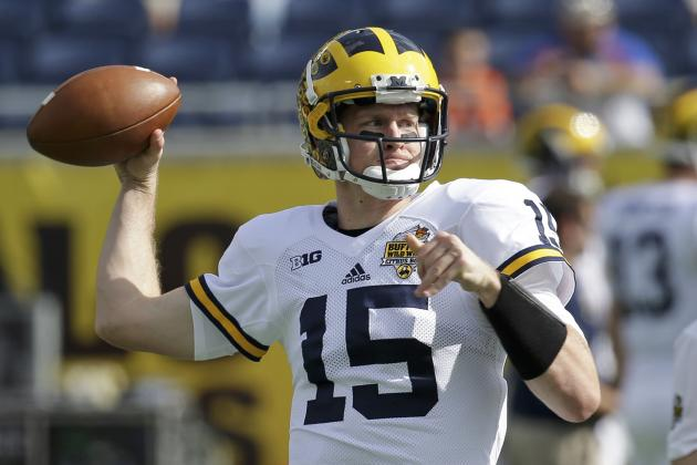 Michigan Pro Day 2016: Recap, Results for Jake Rudock, Graham Glasgow and More