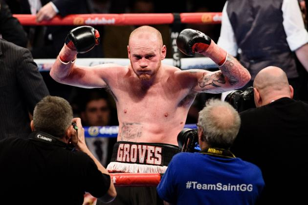 George Groves Wants 'Crack' at Conor McGregor, Comments on Potential MMA Career