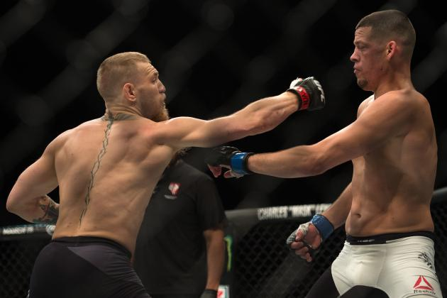 Conor McGregor vs. Nate Diaz 2 Announced as UFC 200 Main Event