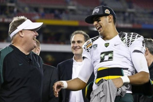 Marcus Mariota Trade Rumors: Eagles Reportedly Offered Multiple 1st-Round Picks