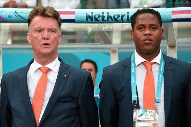 Patrick Kluivert Discusses Louis Van Gaal's Struggles Managing Veteran Players