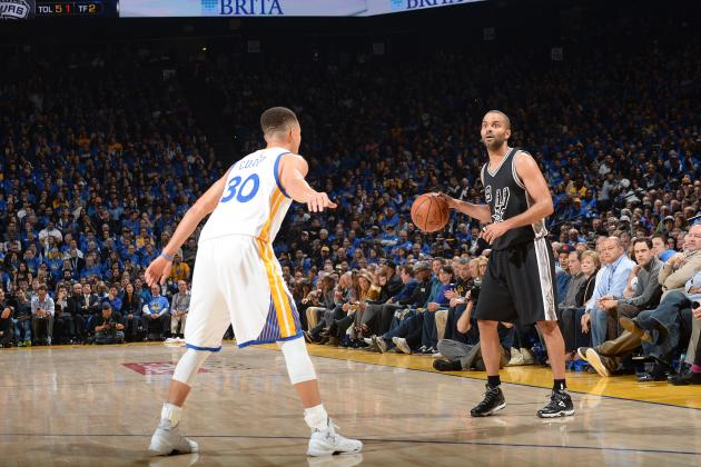 Tony Parker Says Warriors Need More Rings to Be Called Best Team in NBA History