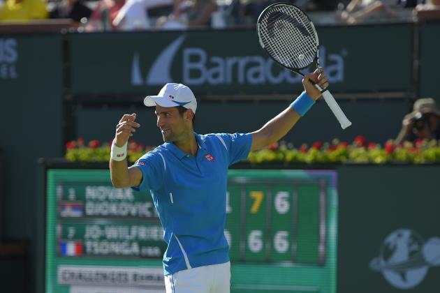 Indian Wells Tennis 2016 Results: Women's Final and Men's Semifinals Preview