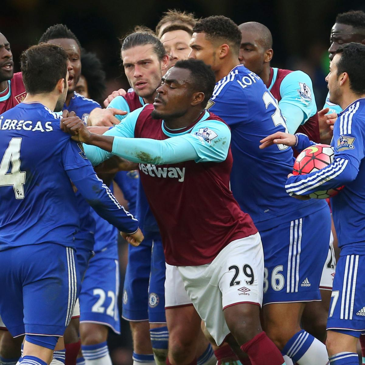 Chelsea Vs Tottenham Score Reaction From 2016 Premier: Chelsea Vs. West Ham: Score, Reaction From 2016 Premier