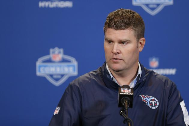 Titans GM Jon Robinson Comments on Trade Value of No. 1 Pick in NFL Draft