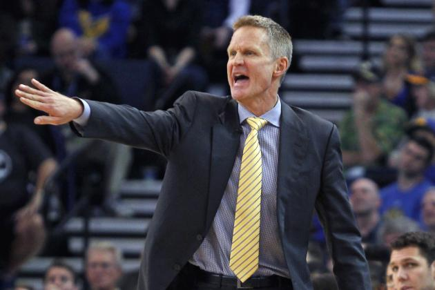 Steve Kerr Says He Would Rest Everyone 'If He Had Any Guts' vs. Spurs