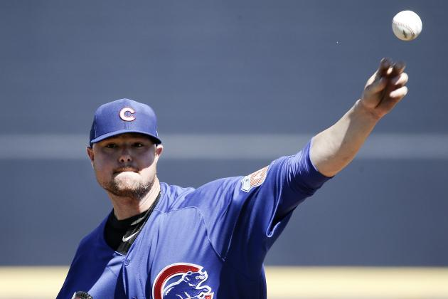 Jon Lester Comments on Bone Chip in Throwing Elbow