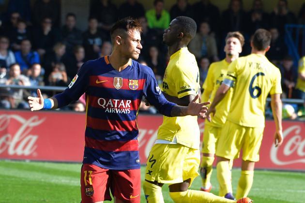 Villarreal vs. Barcelona: Goals, Highlights from the 2015/16 La Liga Match