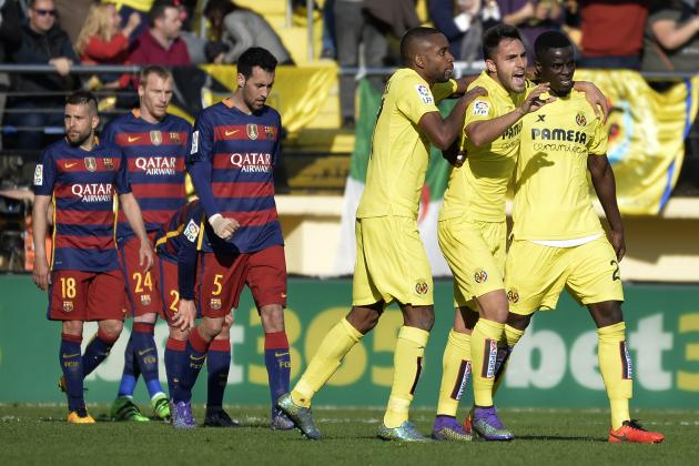Villarreal vs. Barcelona: Score, Reaction from 2016 La Liga Match