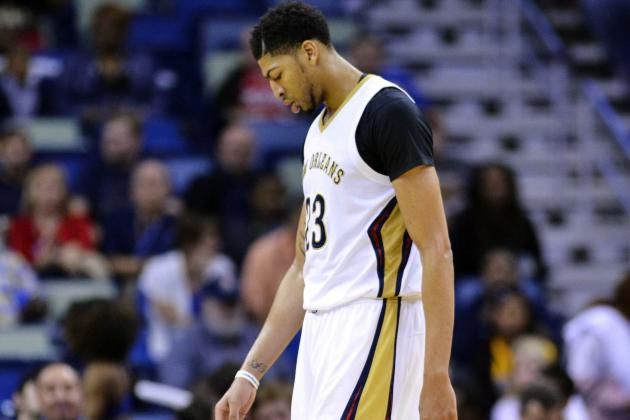 Anthony Davis Ruled Out for Rest of 2015-16 Season with Knee, Shoulder Injuries