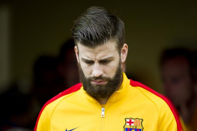 Gerard Pique Berates Journalist Amid Villarreal vs. Barcelona Red Card Row