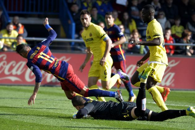 Neymar Allegedly Called a 'Clown' by Roberto Soldado During Villarreal Draw