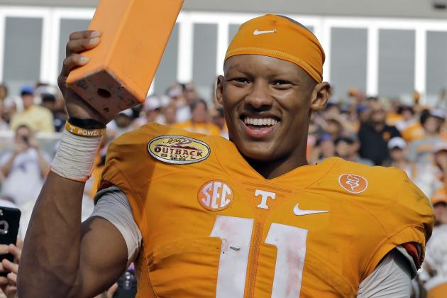 Tennessee QB Joshua Dobbs Hopes to Be the 'CEO' of the Volunteers