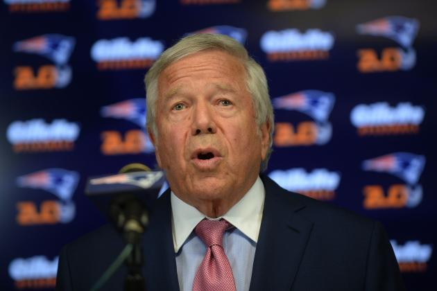 Robert Kraft Comments on Roger Goodell, Draft Picks Lost After Deflategate, More