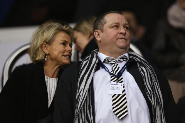 Mike Ashley Comments on Newcastle Finances and His Future as Owner of the Club
