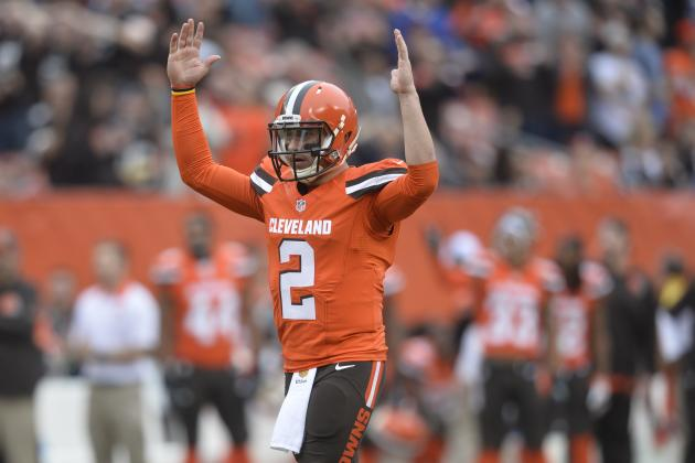 Cleveland Fans Chose Johnny Manziel over Jim Brown in Cleveland Sports Bracket