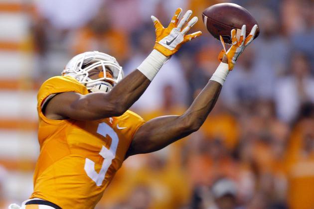 Tennessee Football: Volunteers' 2016 Hopes Hang on Josh Malone
