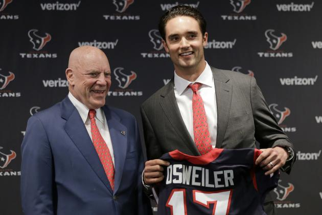 Why the Houston Texans Might Be Overrating Brock Osweiler