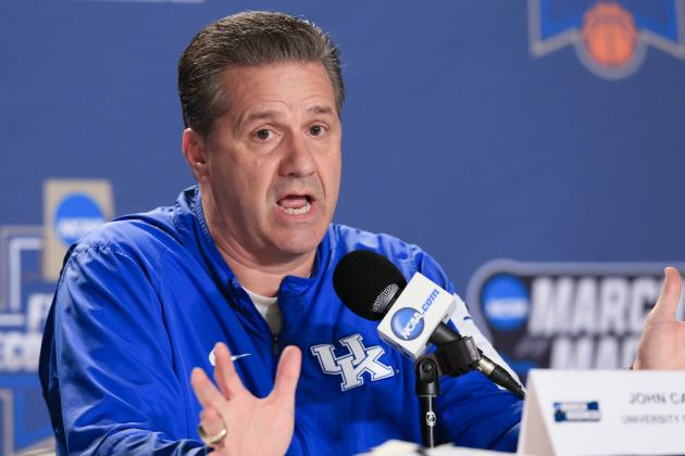 John Calipari Says Eligible Kentucky Players Will Enter Names in 2016 NBA Draft