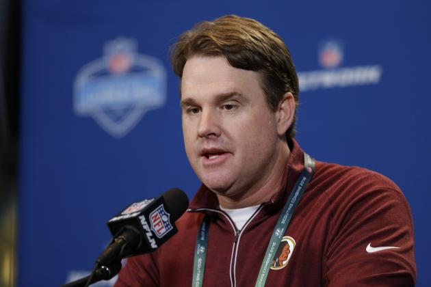 Jay Gruden Comments on Robert Griffin III's Talents, Skills He Must Improve