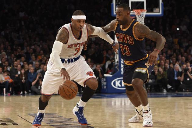 Carmelo Anthony Compares Cavaliers' Drama to Knicks' Situation