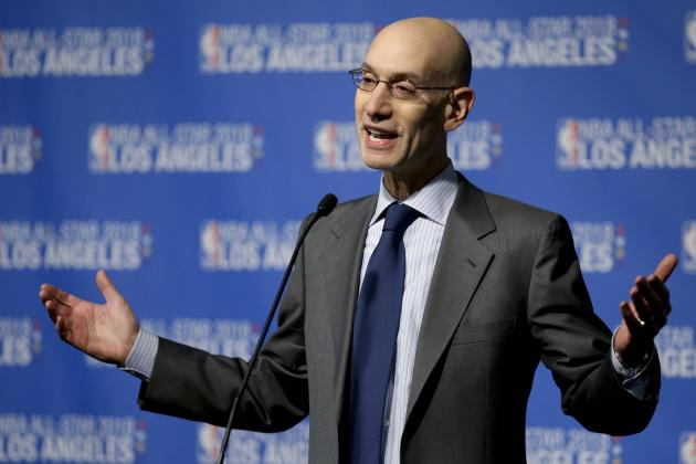 Adam Silver Comments on Labor Negotiations with Players Association