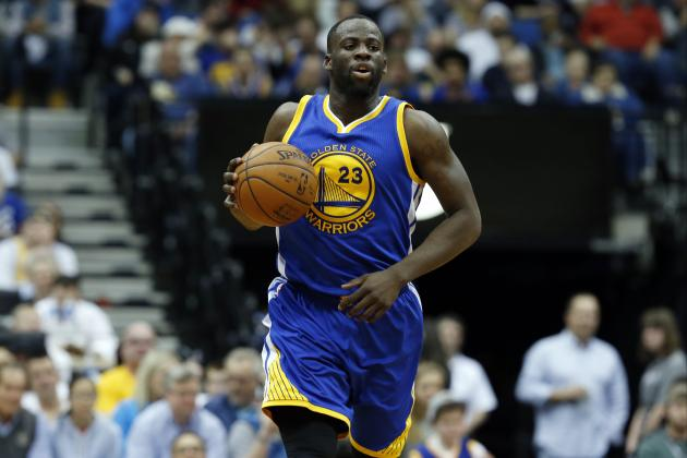 Draymond Green to Discuss with Warriors Speeding Video from His Snapchat