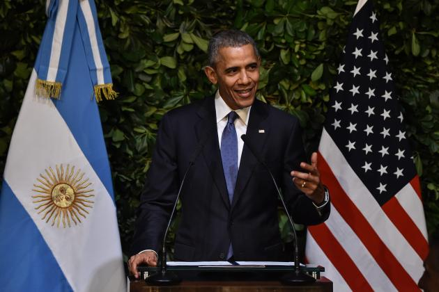 President Obama Says His Daughters Wanted to Meet Lionel Messi in Argentina