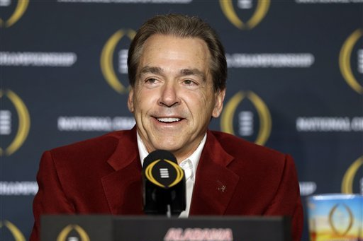 Nick Saban Comments on Jim Harbaugh's Michigan Spring Practices in Florida