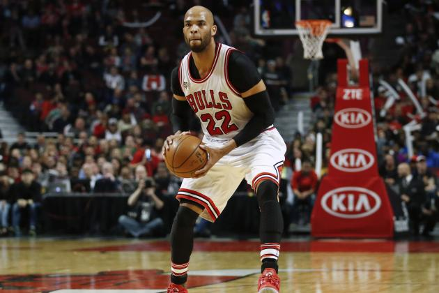 Taj Gibson Says He's 'Embarrassed' by Bulls' Play During Recent Slump