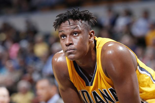 Turner Becomes 1st Pacers Rookie Since 1986-87 with 20 and 15