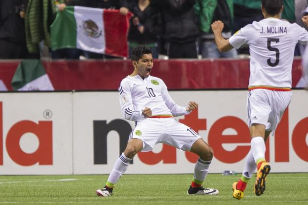 Canada vs. Mexico: Score and Twitter Reaction for 2018 World Cup Qualifying