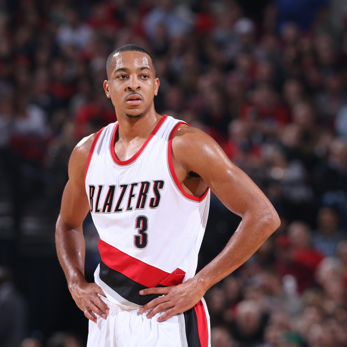 Report: Blazers' CJ McCollum Received PRP Injection for Knee Injury in Offseason