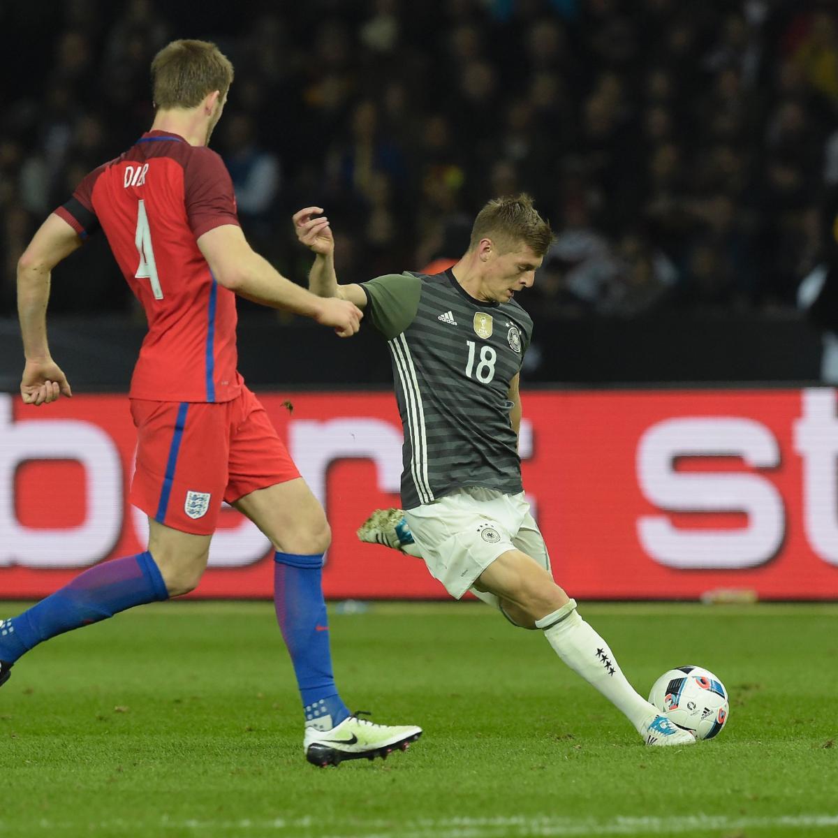Germany V England