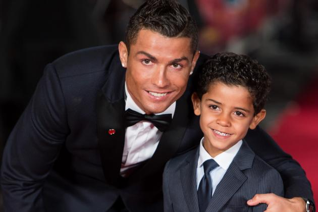 Cristiano Ronaldo Says He Wants His Son to Be a Footballer 'Like His Dad'