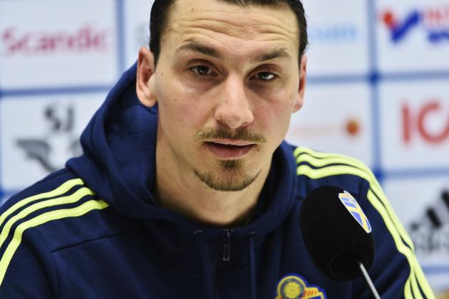 Zlatan Ibrahimovic Comments on Interest from Premier League Clubs