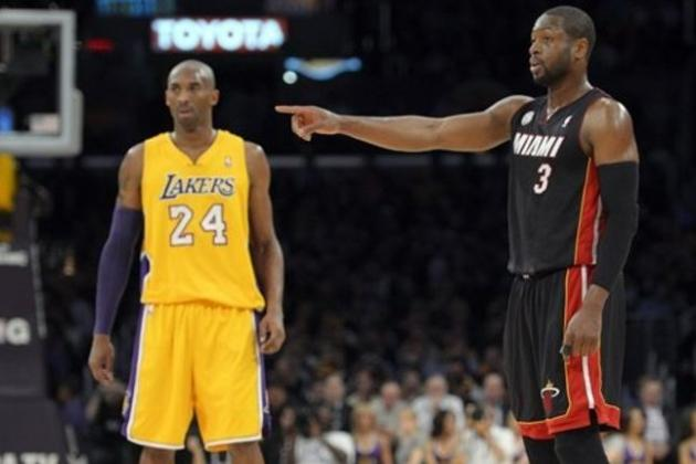 Dwyane Wade Comments on Kobe Bryant Potentially Sitting Out vs. Heat