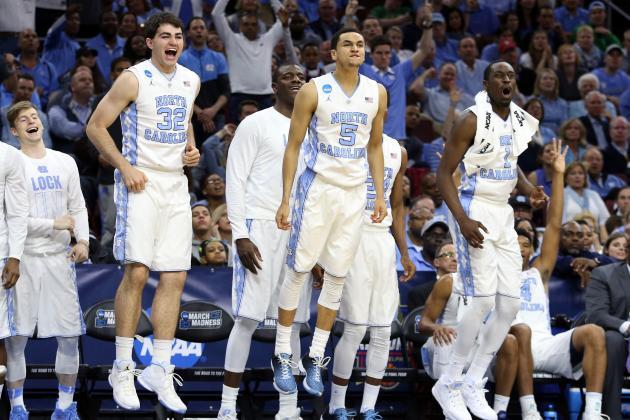 North Carolina vs. Notre Dame: Live Score, Highlights and Reaction for Elite 8