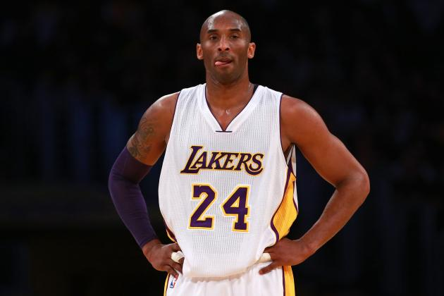 Kobe Bryant Plans to Play in Remaining Lakers Games, Barring 'Something Drastic'