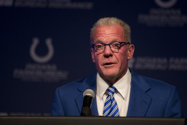 Jim Irsay Comments on NFL Player Health, Safety Issues