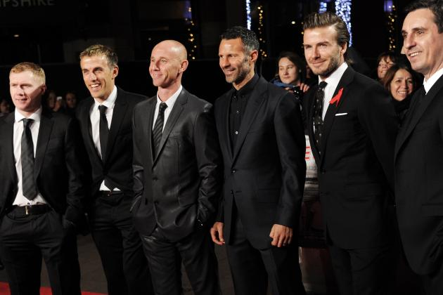 Ryan Giggs Uses One Word to Describe Class of '92 Members, Calls Beckham 'Cocky'