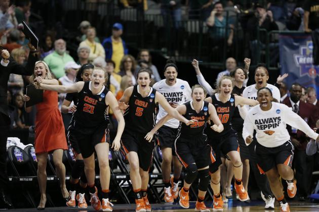 NCAA Women's Basketball Tournament 2016: Elite 8 Scores, Final Four Bracket