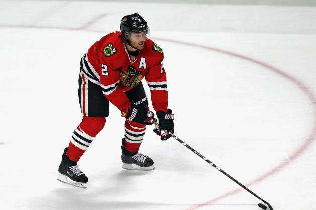 Duncan Keith Suspended for Striking Charlie Coyle in Face with Stick
