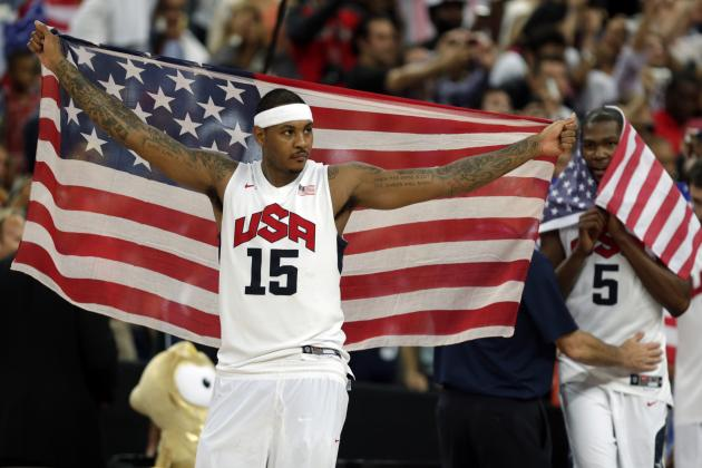 Carmelo Anthony Discusses Desire to Play in 2016 Olympic Games