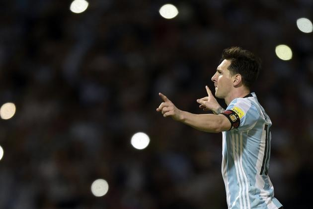 Lionel Messi Scores Penalty as Argentina Beat Bolivia in World Cup Qualifier