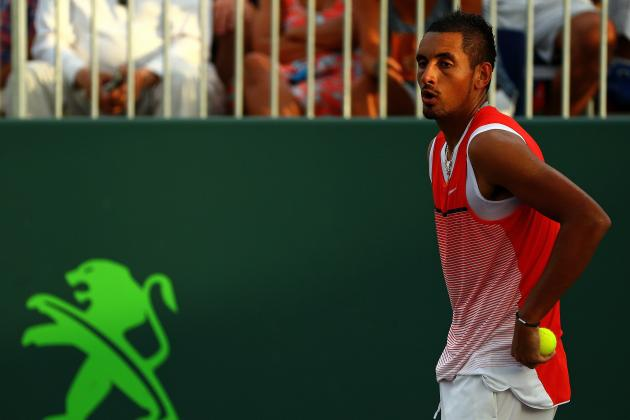Nick Kyrgios Has on-Court Rant at Miami Open, Cites Rafa Nadal in Bias Claims
