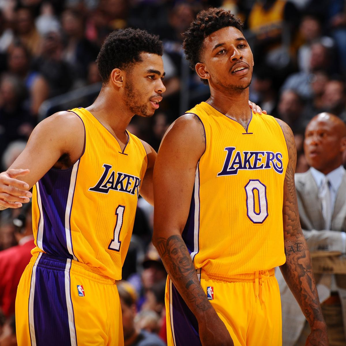 Teams f4 why haven t the los angeles lakers done a trade yet t252325 - Lakers D Angelo Russell Nick Young Drama All Too Predictable Outcome For Both Bleacher Report